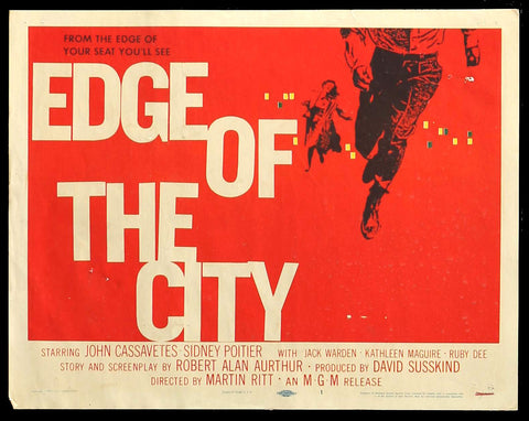 Edge of the City title card Saul Bass