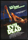 Evil Dead Spanish one sheet