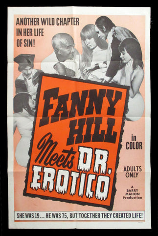 Fanny Hill Meets Dr. Erotico one sheet 1967