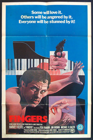 Fingers one sheet Harvey Keitel