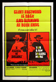 Fistful of Dollars For a Few Dollars More one sheet 1969 Clint Eastwood