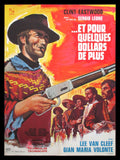 For A Few Dollars More French poster Eastwood Leone