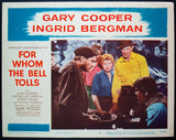 For Whom The Bell Tolls US lobby card Gary Cooper Ingrid Bergman