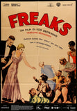 Freaks Italian poster 2016rr Tod Browning