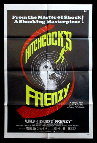 Frenzy one-sheet 1972 Hitchcock