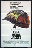 Full Metal Jacket one sheet movie poster Kubrick Vietnam War