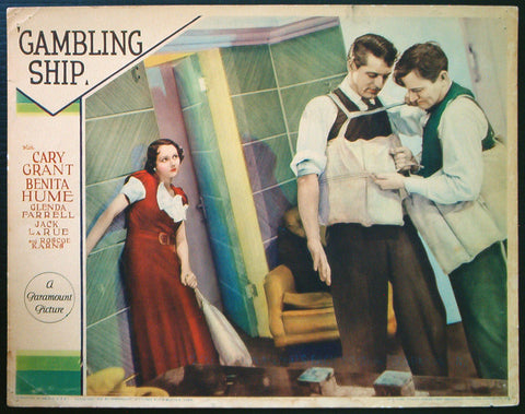 Gambling Ship lobby card Cary Grant 1933