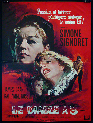 Games French movie poster Simone Signoret