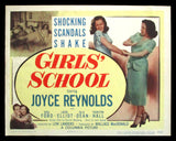 Girls' School title card 1950