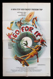 Go For It one sheet movie poster 1976 skateboarding