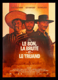 The Good, The Bad and The Ugly French poster Leone Eastwood