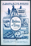 Helen of Troy one sheet Brigitte Bardot