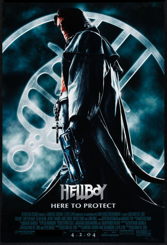 Hellboy one-sheet movie poster