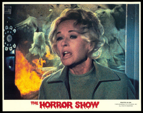 Horror Show mini lobby card The Birds Hitchcock