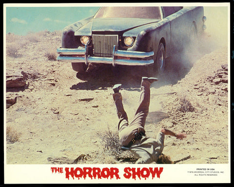 Horror Show mini lobby card The Car