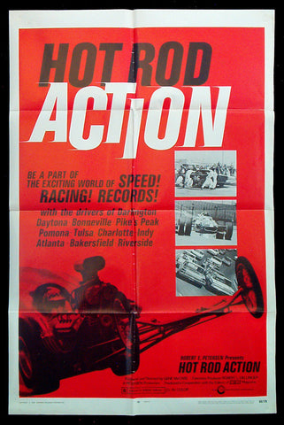 Hot Rod Action one sheet 1969