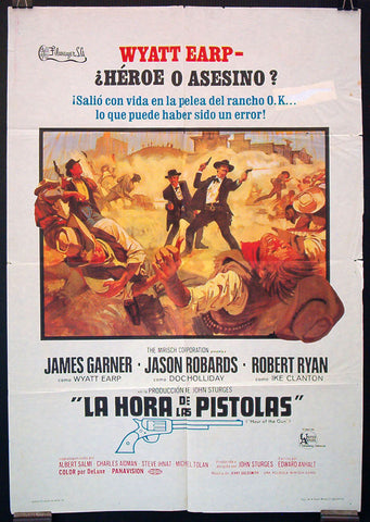 Hour of the Gun Spanish one sheet