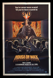 House of Wax one sheet Vincent Price 1981