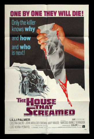 The House That Screamed one sheet 1971 horror