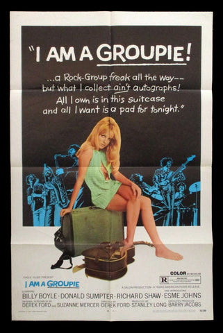 I Am A Groupie one sheet 1970