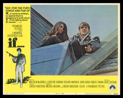 If... lobby card 1969 Lindsay Anderson Malcolm McDowell