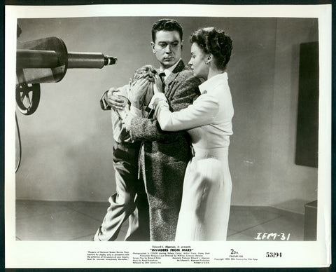 Invaders From Mars 8x10 still 1953 sci-fi science fiction Menzies