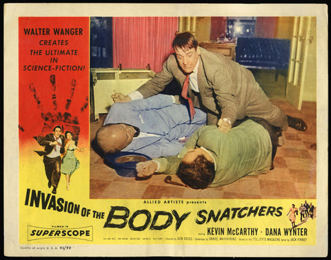 Invasion of the Body Snatchers lobby card 1956 sci-fi