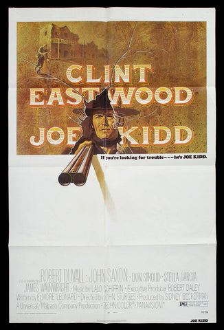 Joe Kidd one sheet 1972 Clint Eastwood western