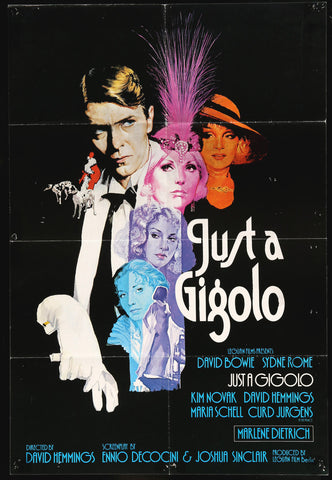 Just A Gigolo UK one-sheet 1978 David Bowie