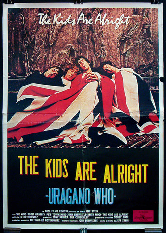 The Kids Are Alright Italian one-sheet The Who