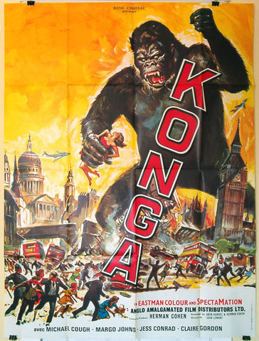 Konga French movie poster