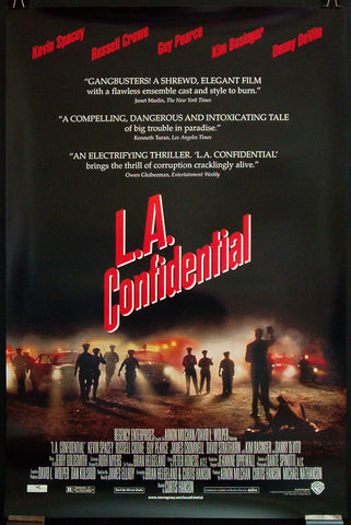 L.A. Confidential one-sheet movie poster