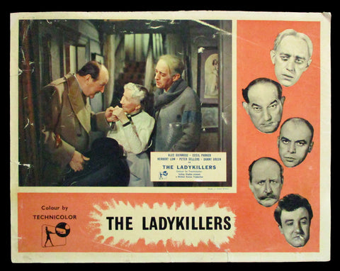 The Ladykillers lobby card Alec Guinness 1955