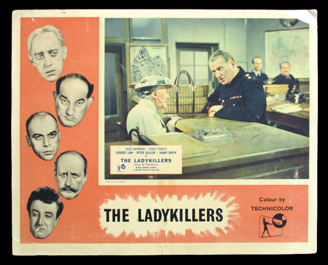 The Ladykillers lobby card Ealing Studios 1955