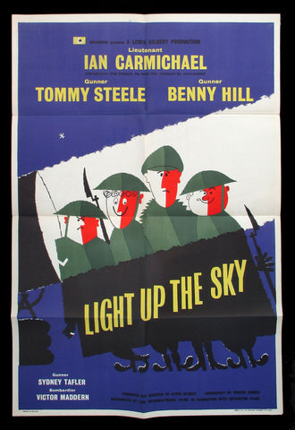 Light Up The Sky UK one sheet WWII