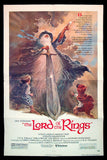 The Lord of the Rings one sheet 1978 Ralph Bakshi