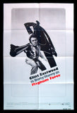 Magnum Force one sheet 1973 Clint Eastwood