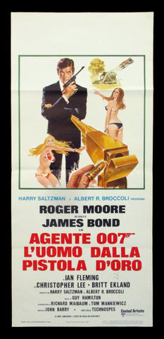 The Man With The Golden Gun Italian locandina 007