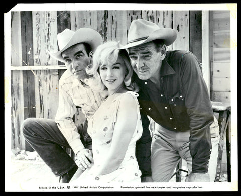 The Misfits 8x10 still 1961 Marilyn Monroe Clark Gable Montgomery Clift