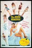 Miss Body Beautiful one sheet 1953 vintage swimsuits