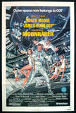 Moonraker one-sheet movie poster James Bond 007
