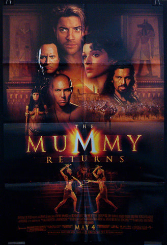 The Mummy Returns one sheet
