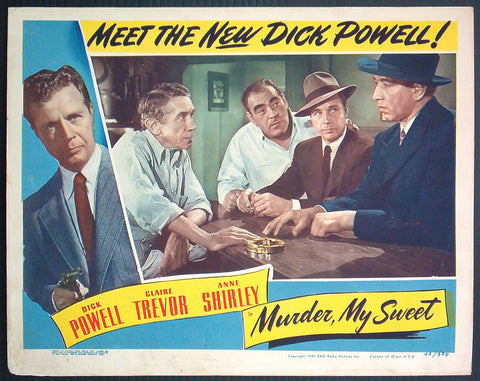 Murder My Sweet lobby card 1944 film noir Raymond Chandler