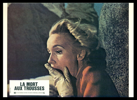North By Northwest French lobby card Hitchcock