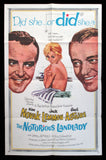 The Notorious Landlady one sheet Kim Novak Jack Lemmon Fred Astaire