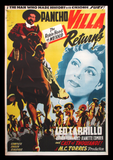 Pancho Villa Returns Mexican movie poster 1950