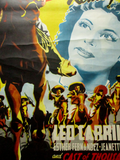 Pancho Villa Returns Mexican movie poster 1950 detail