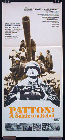 Patton movie poster 1970 George C. Scott