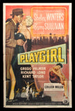 Playgirl one sheet 1954 Shelley Winters