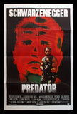 Predator UK one sheet Schwarzenegger sci fi 1987